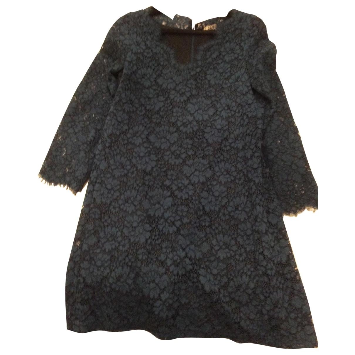 Claudie Pierlot \N Blue Lace dress for Women 40 FR