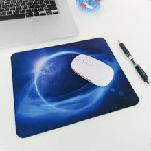 1pc Planet Print Mouse Pad