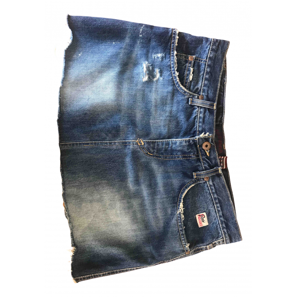 Roy Rogers \N Kleid in  Blau Denim - Jeans