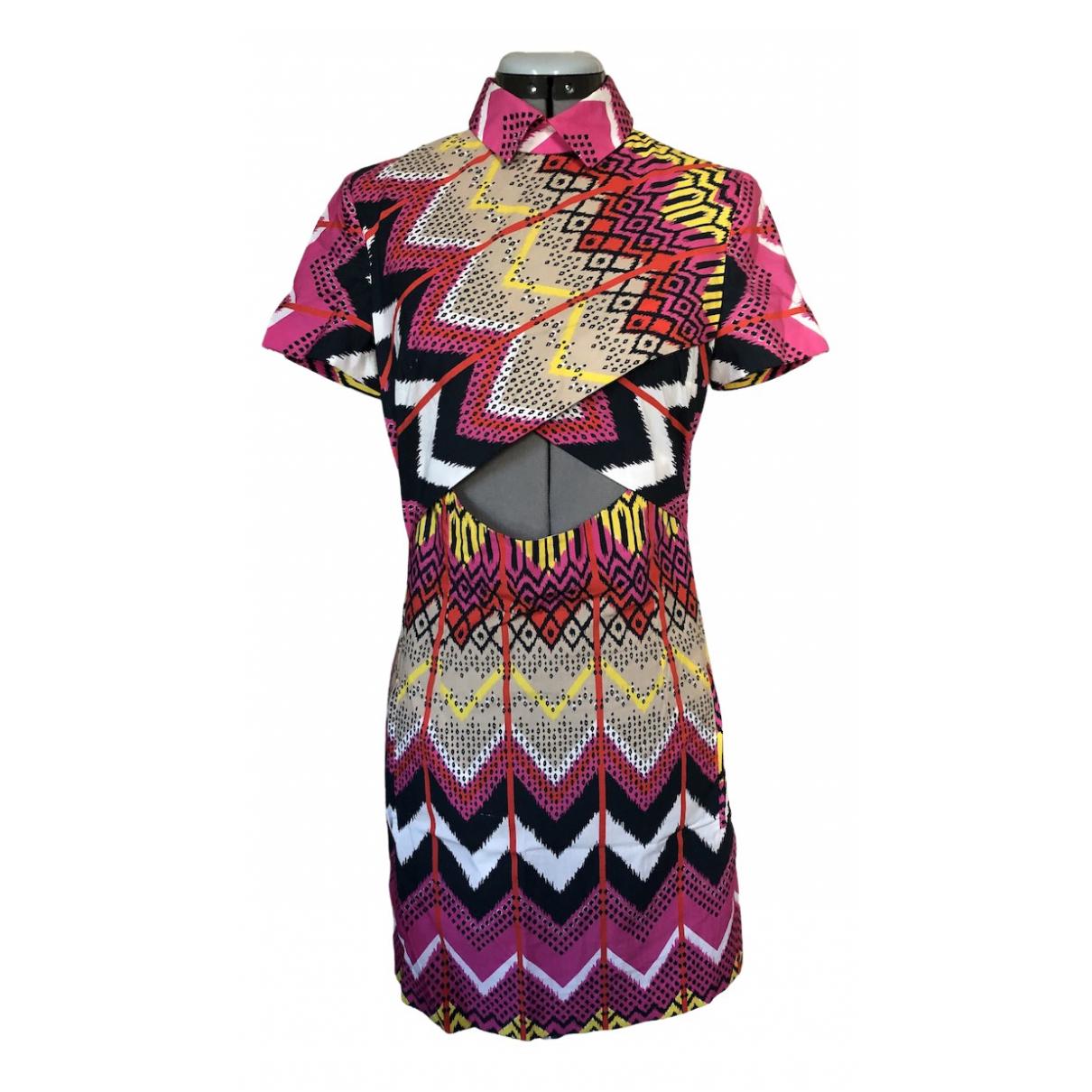 Carven - Robe   pour femme en coton - multicolore