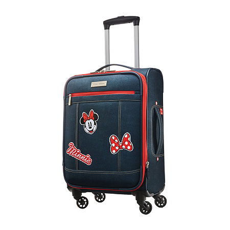 American Tourister Mickey Mouse Heritage Minnie Mouse 20 Inch Hardside Lightweight Luggage, One Size , Multiple Colors