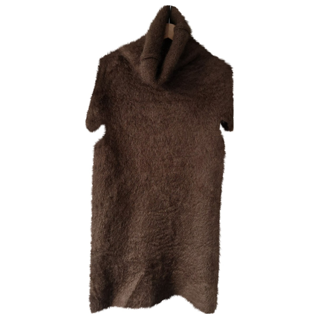 Maison Martin Margiela \N Brown Wool dress for Women 38 FR