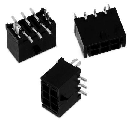 Wurth Elektronik , WR-MPC3, 6 Way, 2 Row, Straight PCB Header (5)