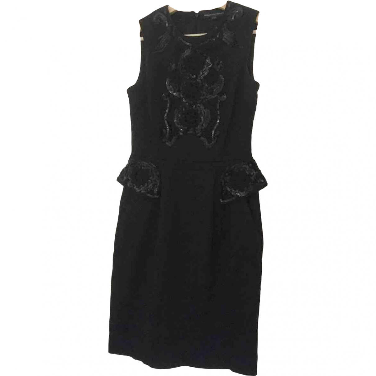 French Connection \N Black Cotton dress for Women 36 FR