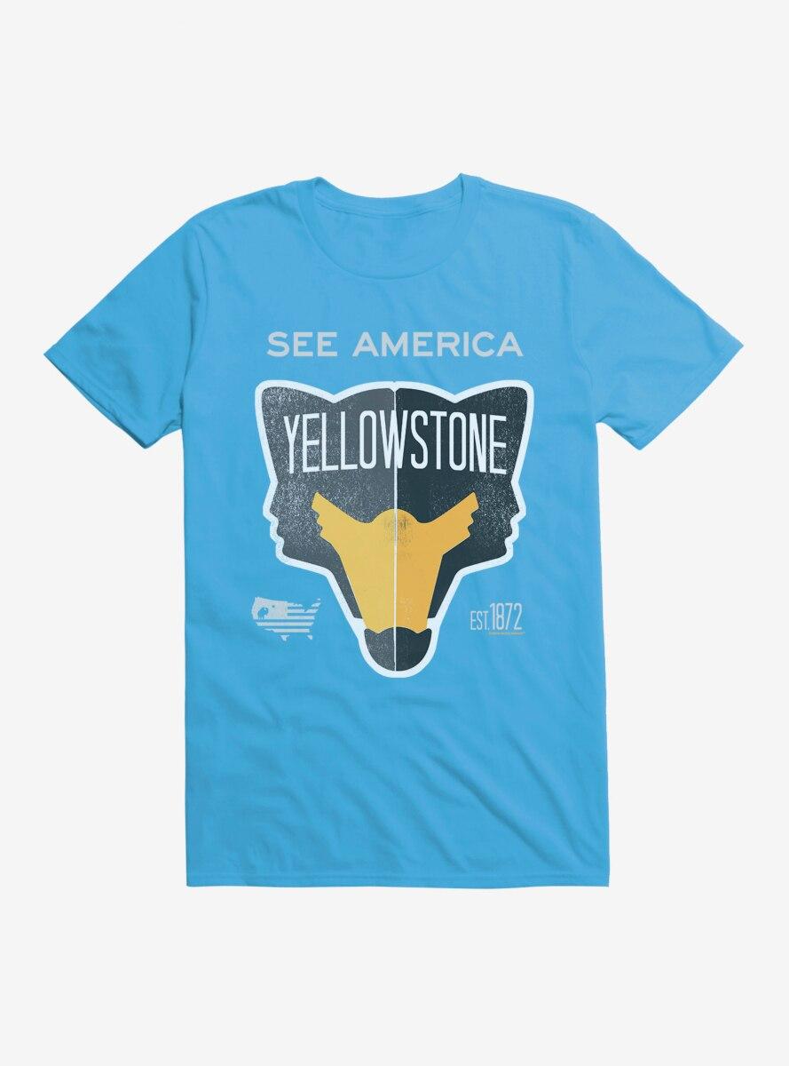 See America Yellowstone T-Shirt