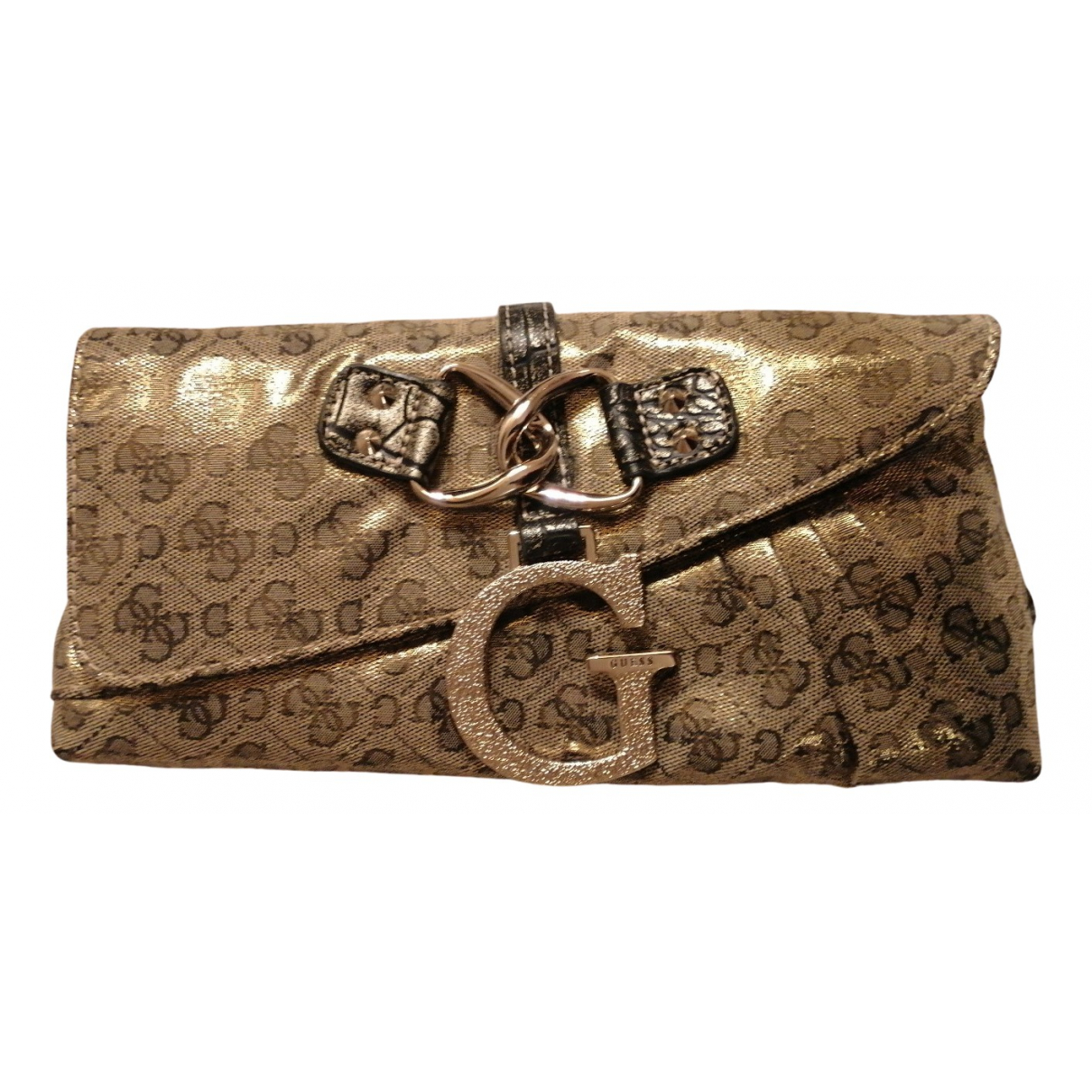 Guess N Gold Cloth Clutch bag for Women N