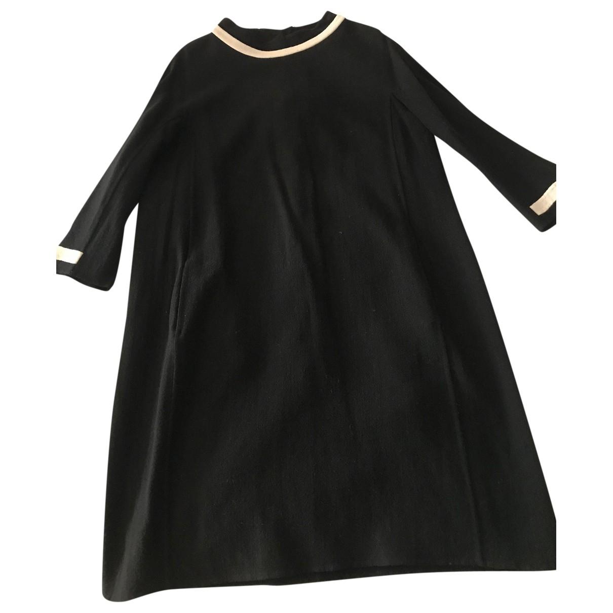 Max Mara 's \N Black Wool dress for Women 46 IT