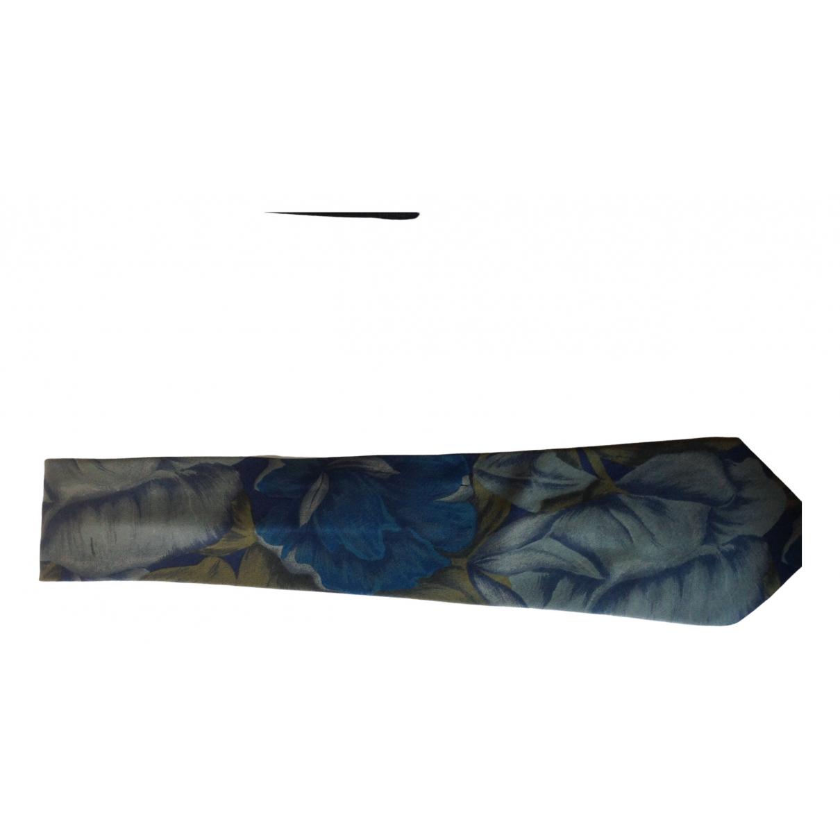 Pierre Cardin \N Krawatten in  Gruen Seide