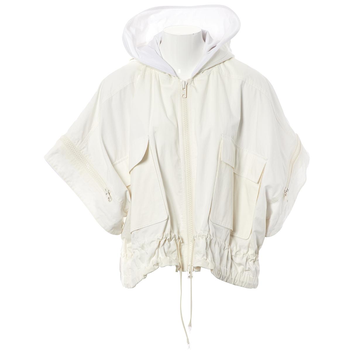 Givenchy - Veste   pour femme en coton - blanc