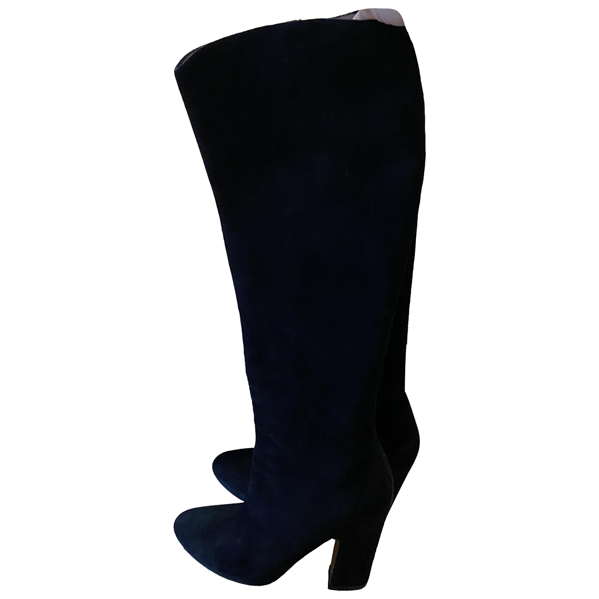 Alaïa N Black Suede Boots for Women 36 EU