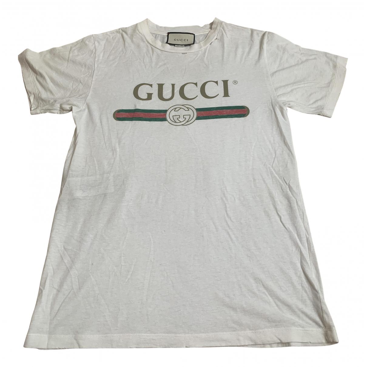 Gucci \N White Cotton  top for Women XXS International