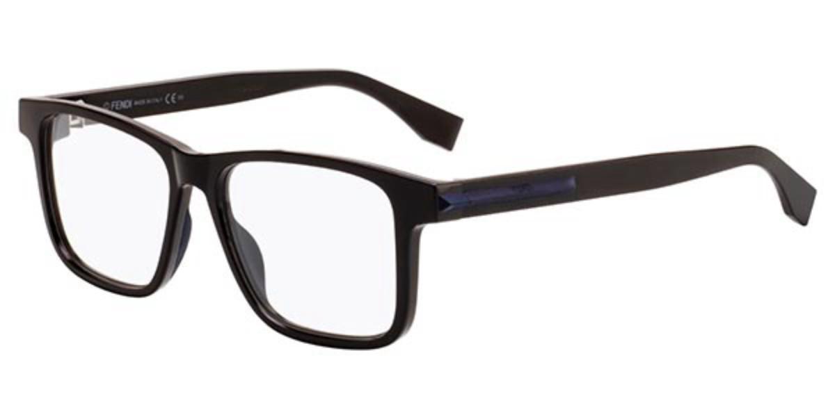 Fendi FF M0038 09Q Mens Glasses Black Size 53 - Free Lenses - HSA/FSA Insurance - Blue Light Block Available