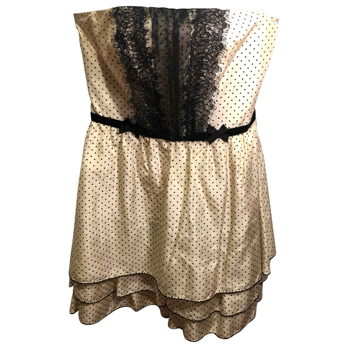 Rebecca Taylor \N White Silk dress for Women 2 0-5