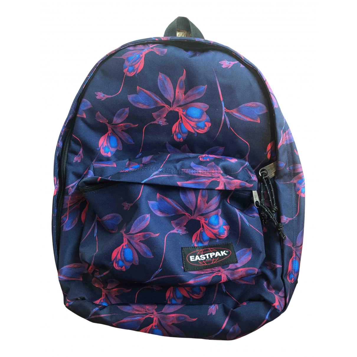 Eastpak \N Blue Cotton backpack for Women \N
