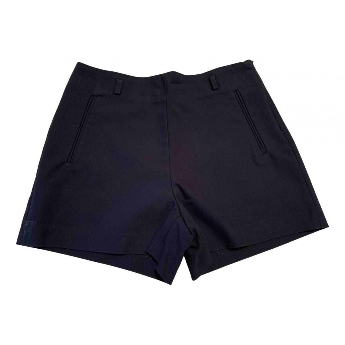 Zara \N Shorts in  Marine Baumwolle