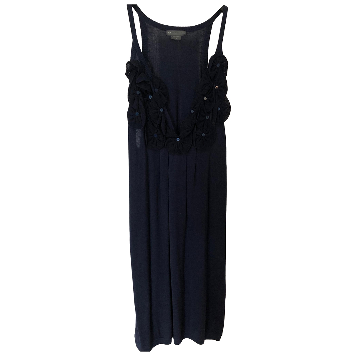 Emporio Armani \N Blue Wool dress for Women M International