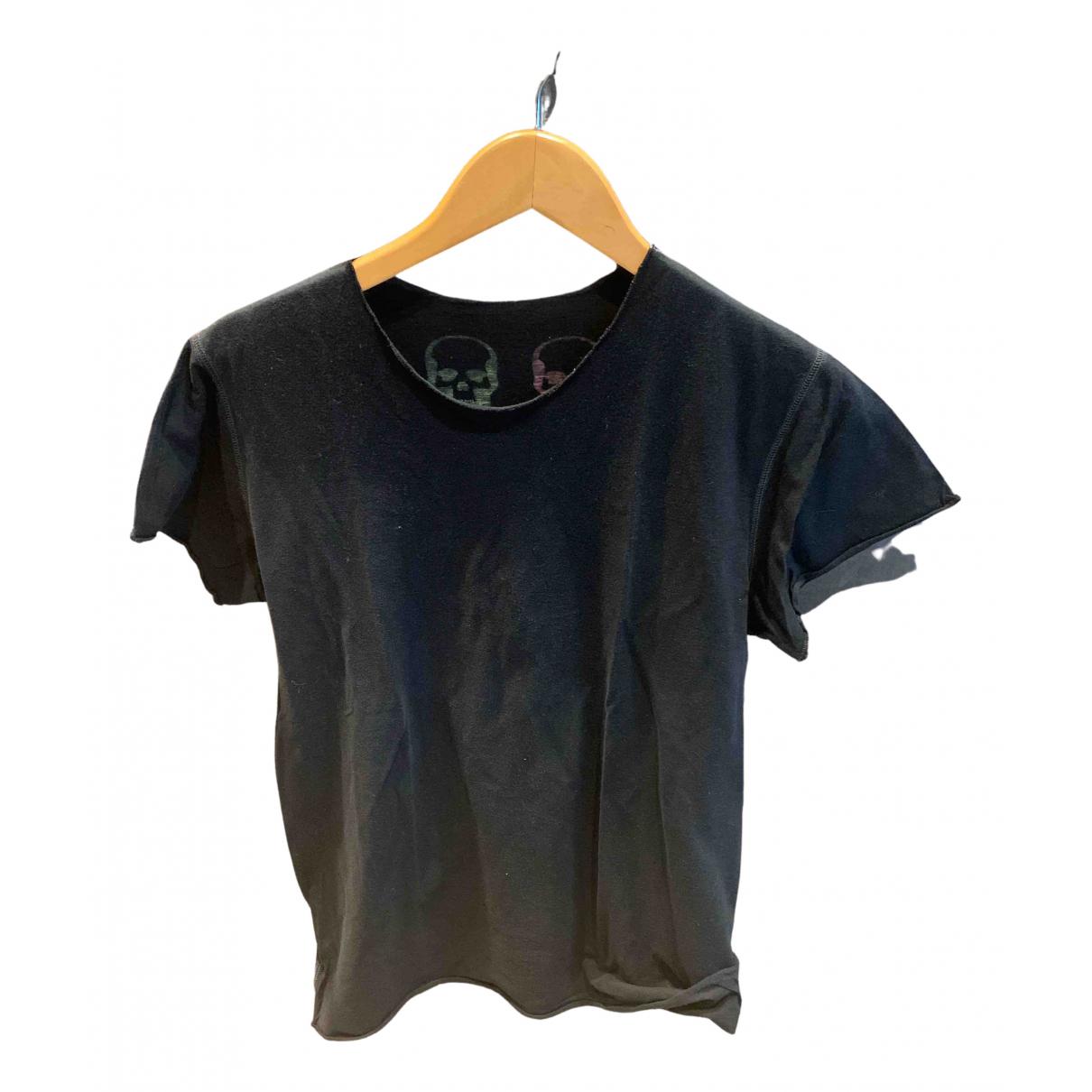 Lucien Pellat Finet N Black Cotton T-shirts for Men L International
