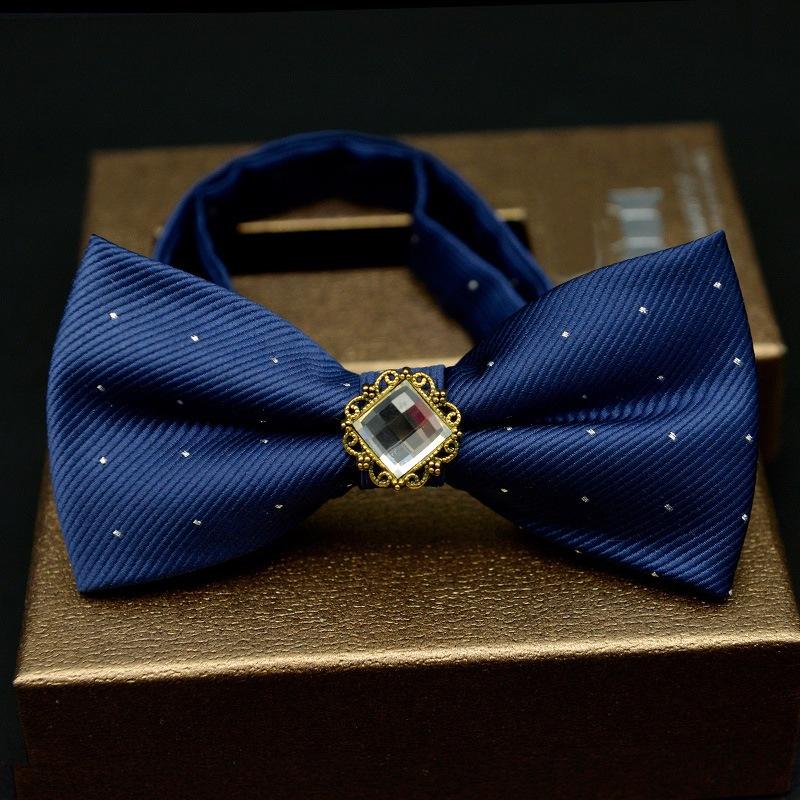 Ericdress Gems Dots Bow Tie