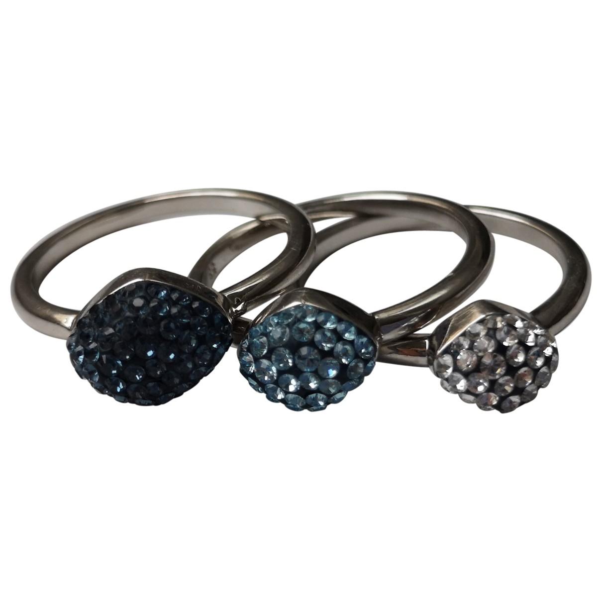 Swarovski Atelier - Bague   pour femme en cristal - bleu