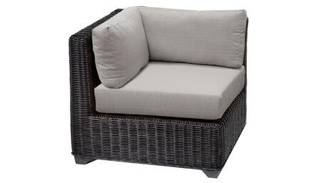 TKC050b-CS-ASH Venice Corner Chair - Wheat and Ash