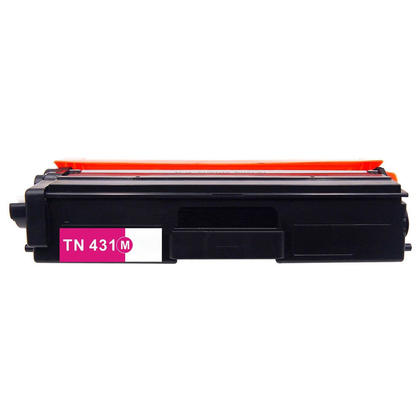 Brother TN431M Compatible Magenta Toner Cartridge 1800 Pages - Economical Box