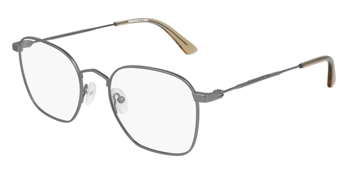 McQ MQ0206O 004 Men's Glasses Grey Size 52 - Free Lenses - HSA/FSA Insurance - Blue Light Block Available