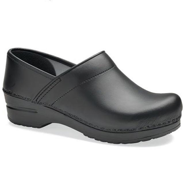 Dansko Professional (Women' Black Box Leather 39