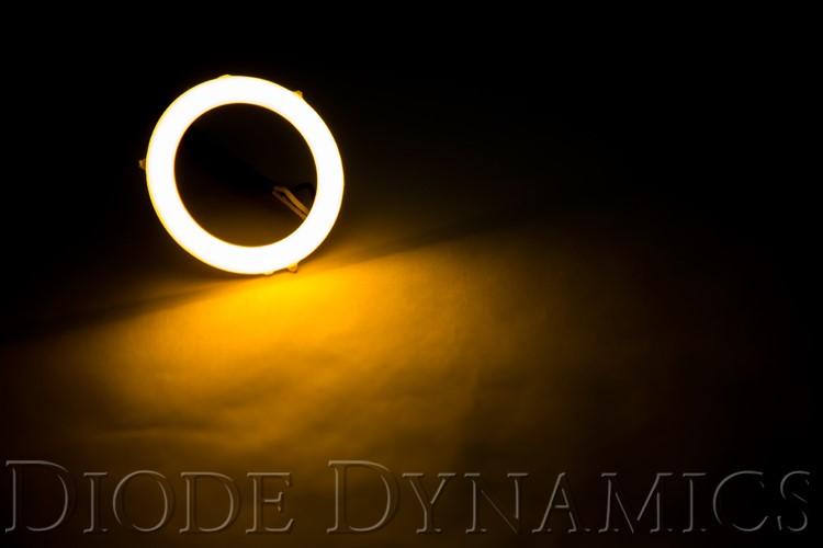 Diode Dynamics DD2023S Halo Lights LED 60mm Amber Single