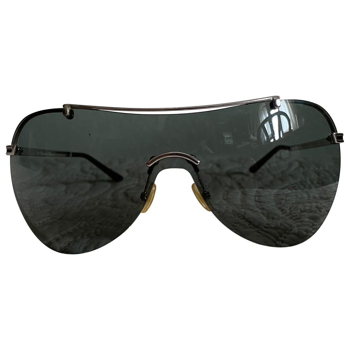 Dior Homme \N Sonnenbrillen in  Schwarz Metall