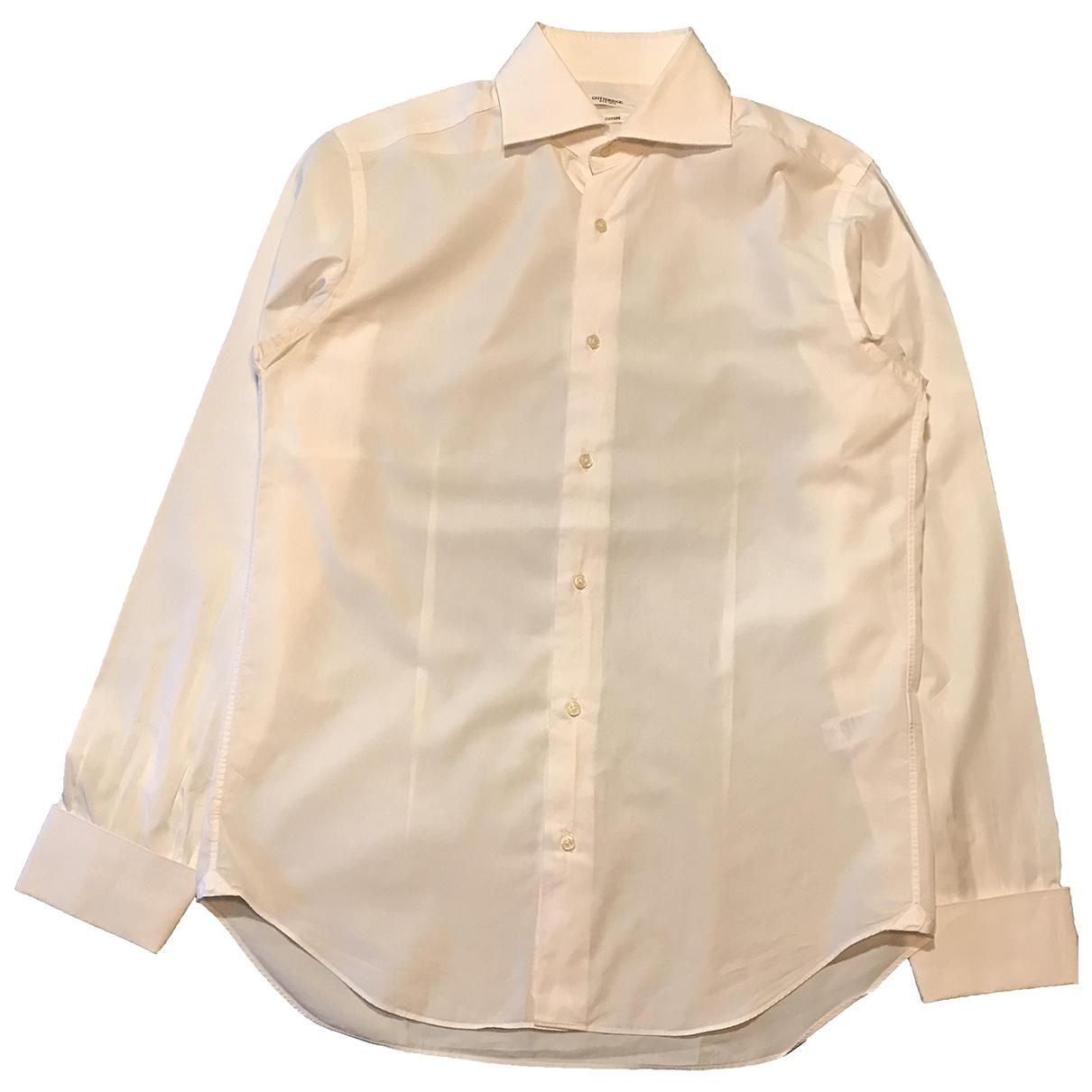 - Chemises   pour homme en coton - blanc
