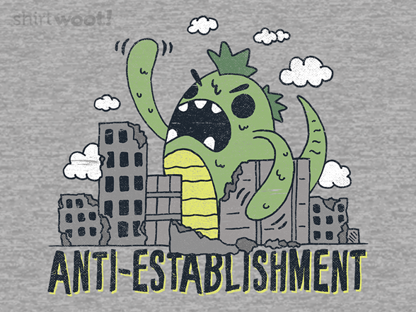 Anti-establishment T Shirt
