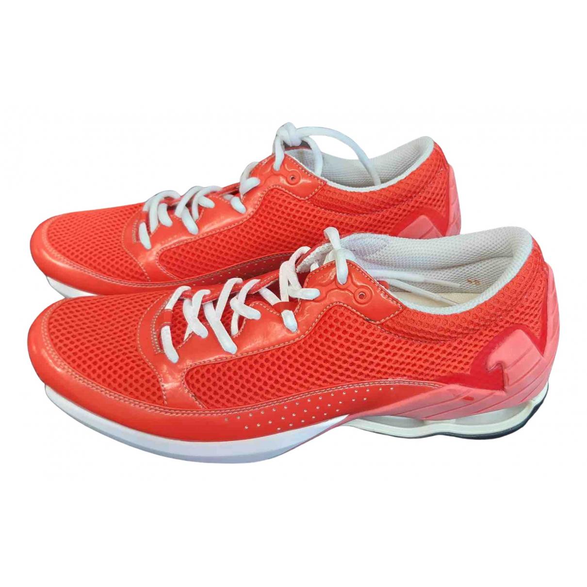 Emporio Armani - Baskets   pour homme en autre - orange
