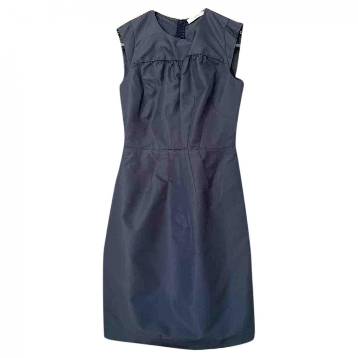 Prada \N Kleid in  Marine Polyester