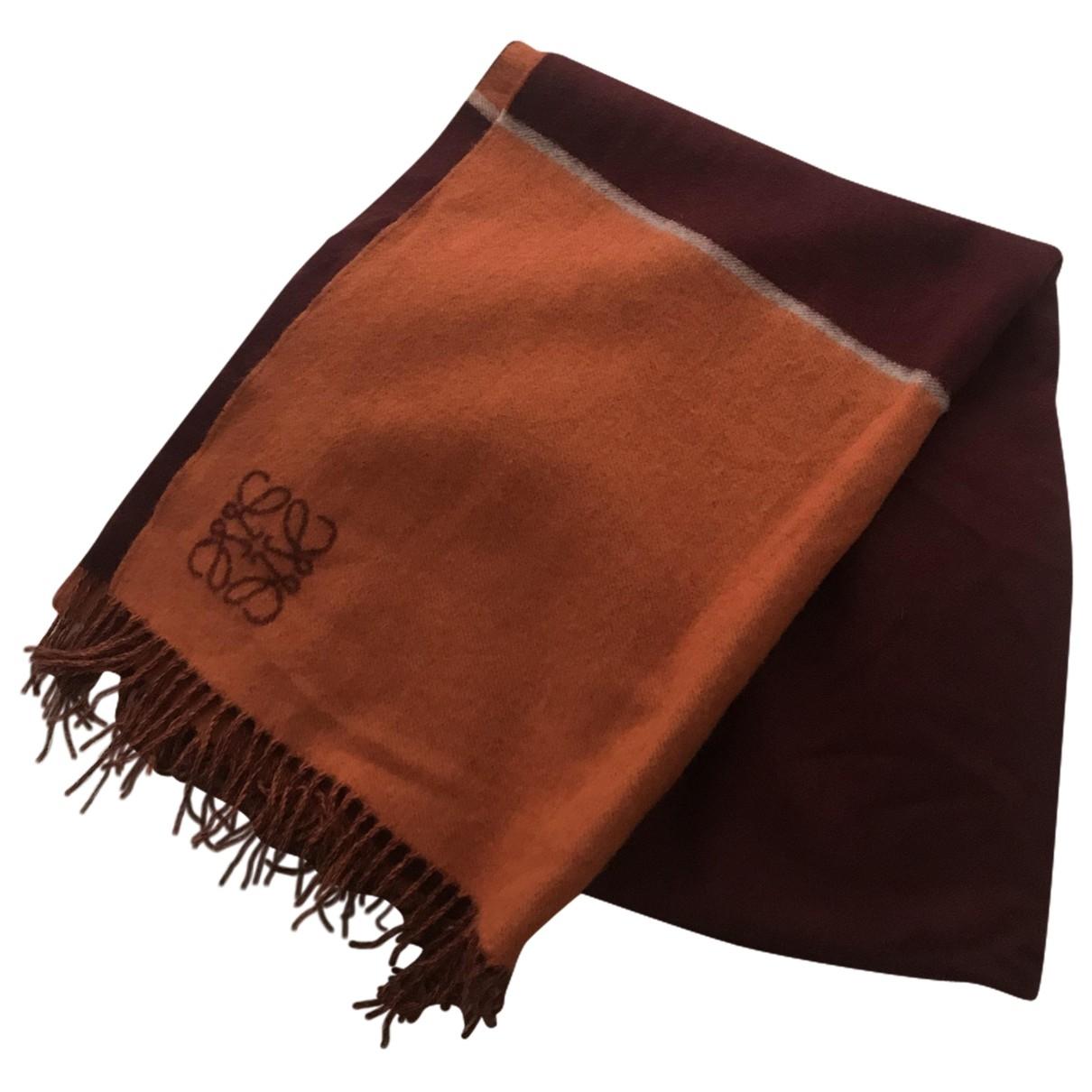 Loewe \N Wool scarf for Women \N