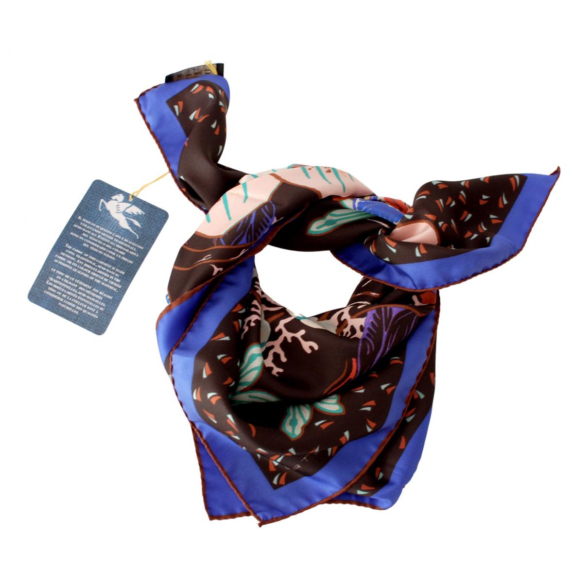 Etro - Foulard   pour femme en soie - noir