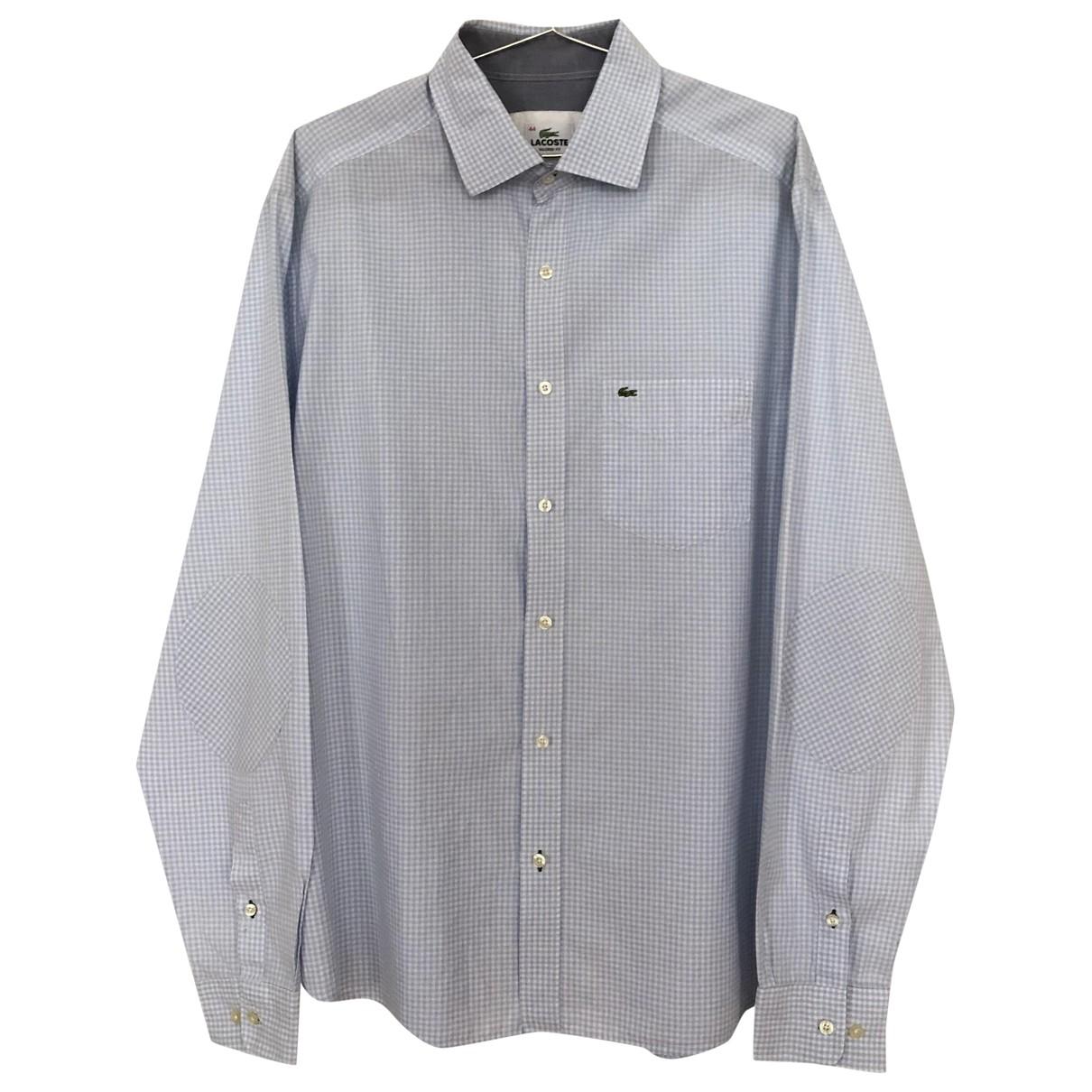 Lacoste \N Cotton Shirts for Men 44 EU (tour de cou / collar)