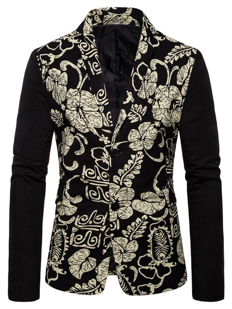 Ericdress Button Casual Single-Breasted Mens leisure Blazer