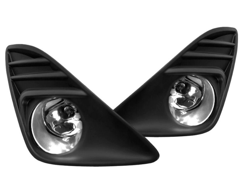 Winjet WJ30-0266-09 Clear Fog Lights Includes Wiring Kit Toyota Camry 12-13