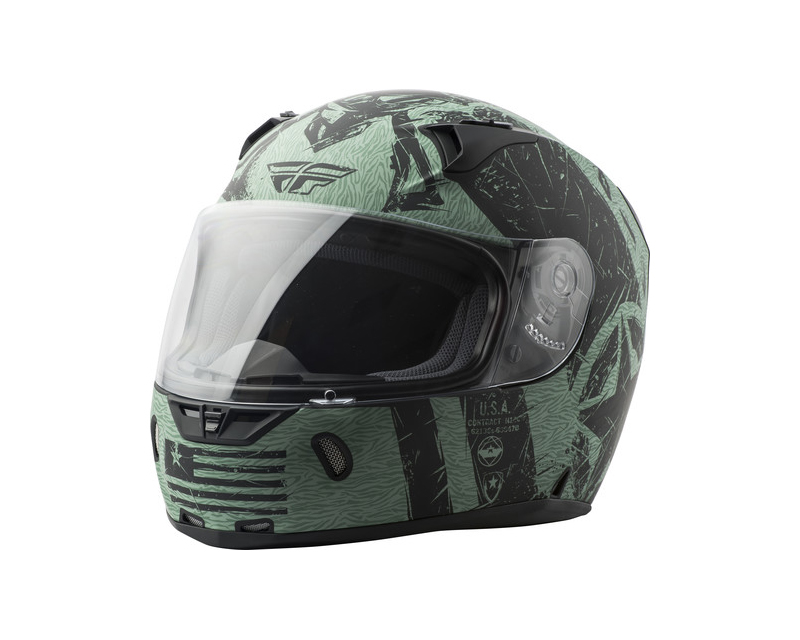 Fly Racing 73-83742X Revolt Liberator Helmet
