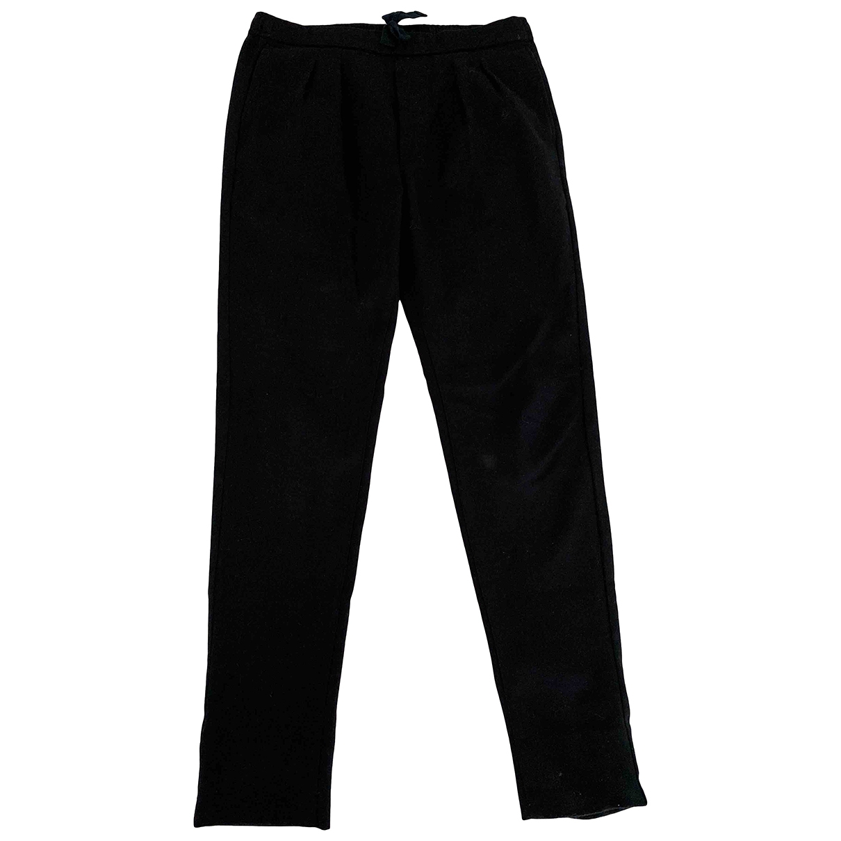 Lemaire X Uniqlo \N Blue Wool Trousers for Men XL International