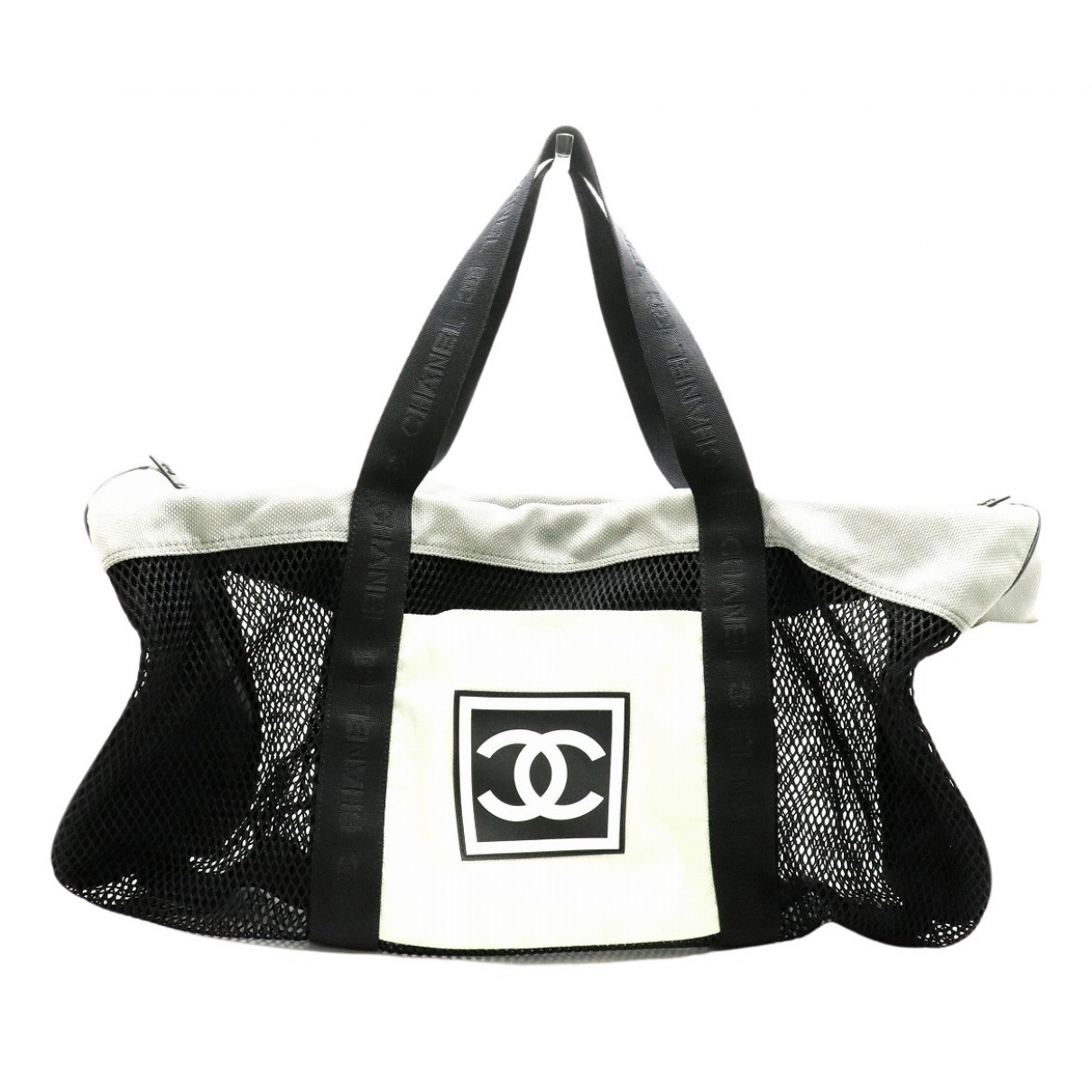 Chanel \N Black Cloth Travel bag for Women \N