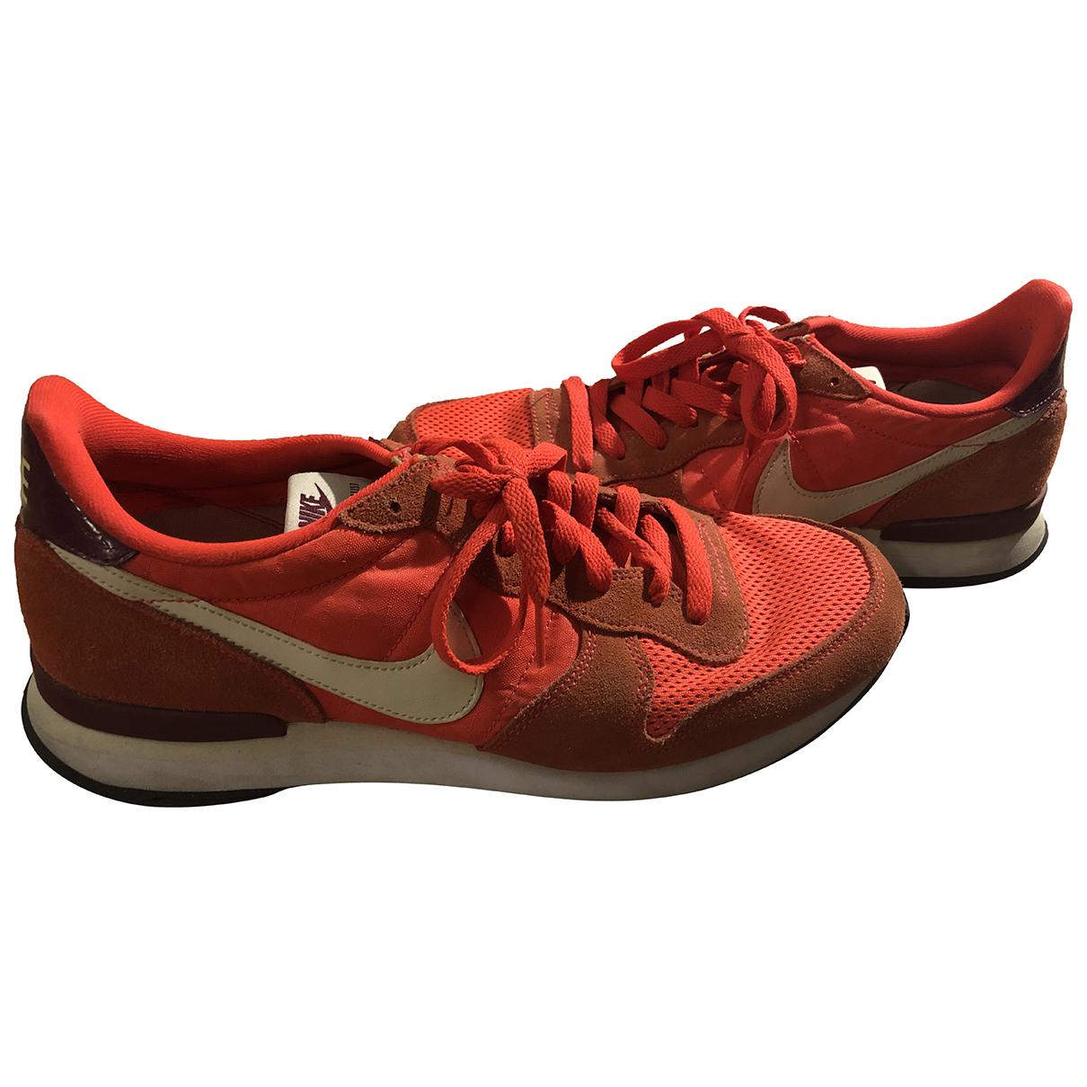 Nike Internationalist Pink Cloth Trainers for Men 44 EU