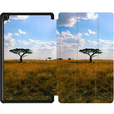 Amazon Fire 7 (2017) Tablet Smart Case - Tanzanian Savanna von Omid Scheybani