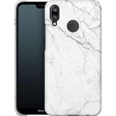 Huawei P20 Lite Smartphone Huelle - White Marble von caseable Designs