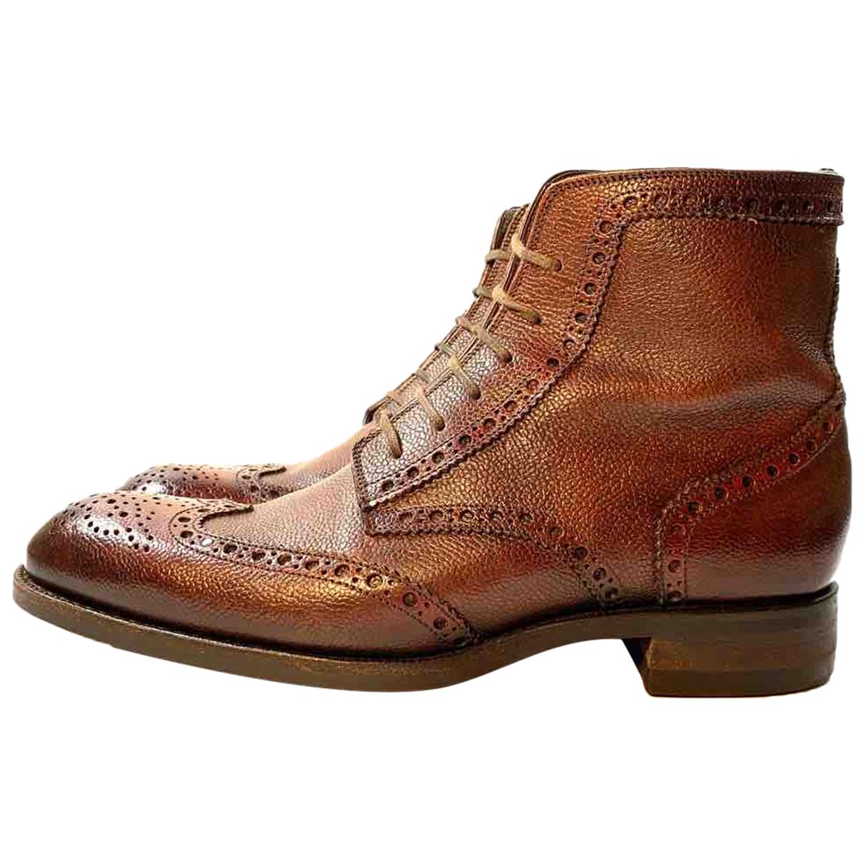 Botas de Cuero Tom Ford