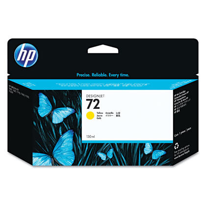 HP 72 C9373A Original Yellow Ink Cartridge High Yield