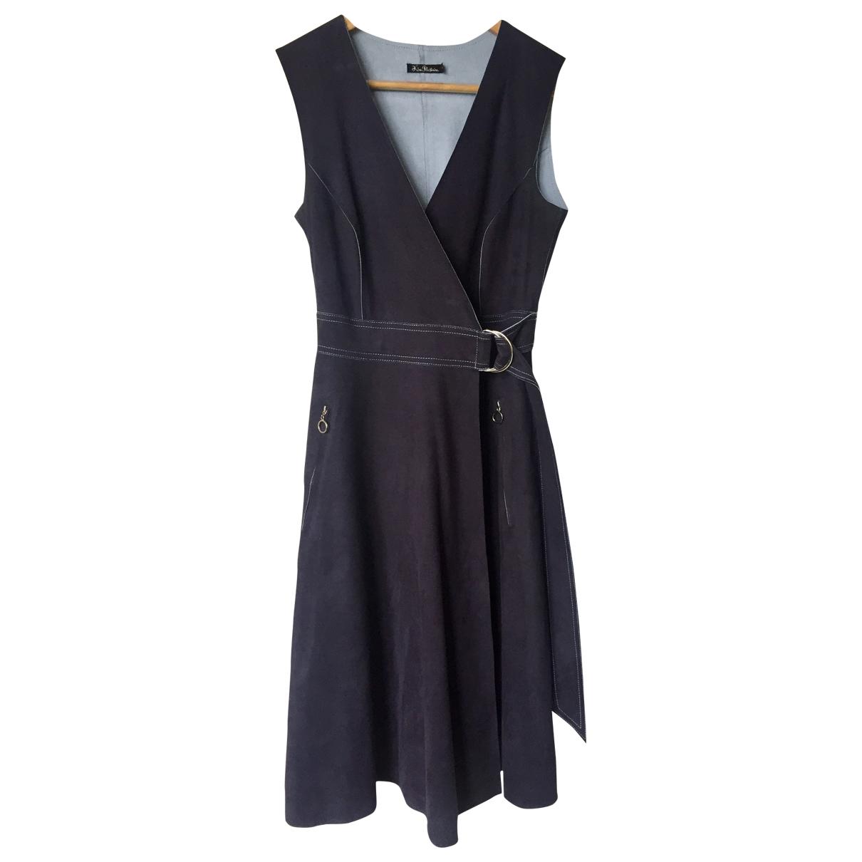 Lublu Kira Plastinina \N Kleid in  Anthrazit Polyester