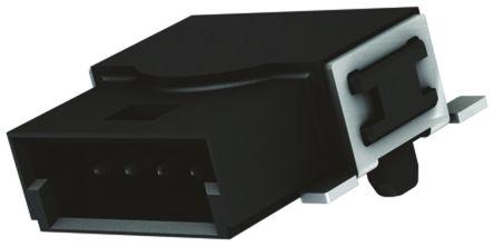 HARTING , Har-Flexicon, 4 Way, 1 Row, Horizontal PCB Header
