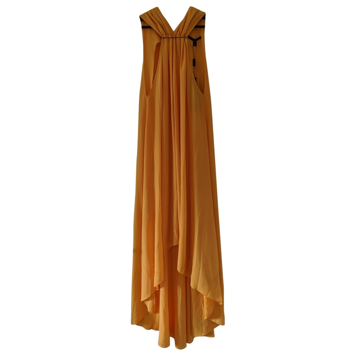 Aqaq \N Kleid in  Orange Polyester