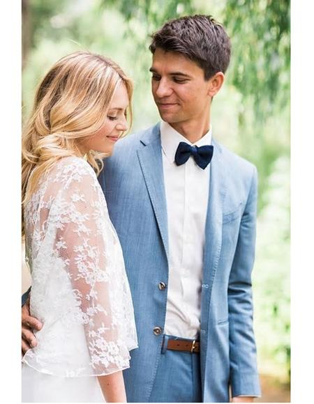 Mens Beach Wedding Attire Suit Menswear Blue 199